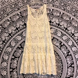 Arizona Jeans Outer floral lace dress layer